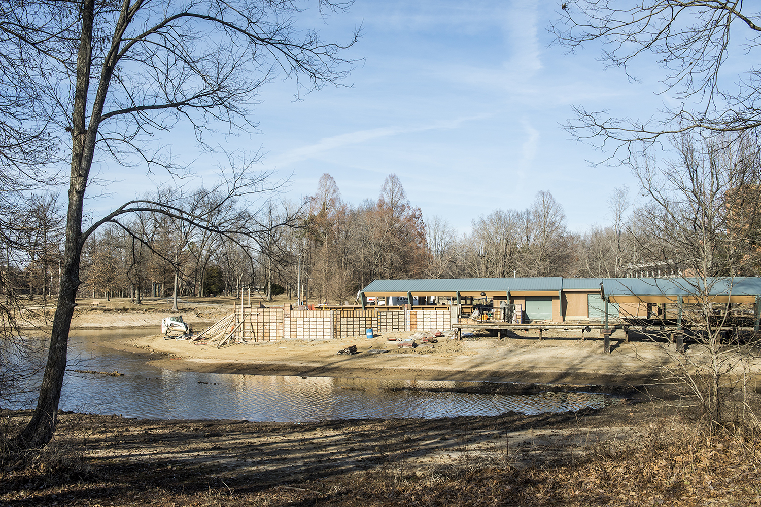 Ralph E. Becker Boat Dock And Pavilion Expected To Be Ready By Spring